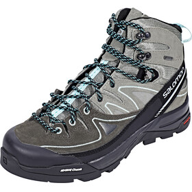 Salomon X Alp LTR GTX Hiking Shoes Women Shadow/Castor Gray/Aruba Blue